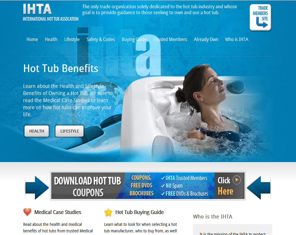 The International Hot Tub Association