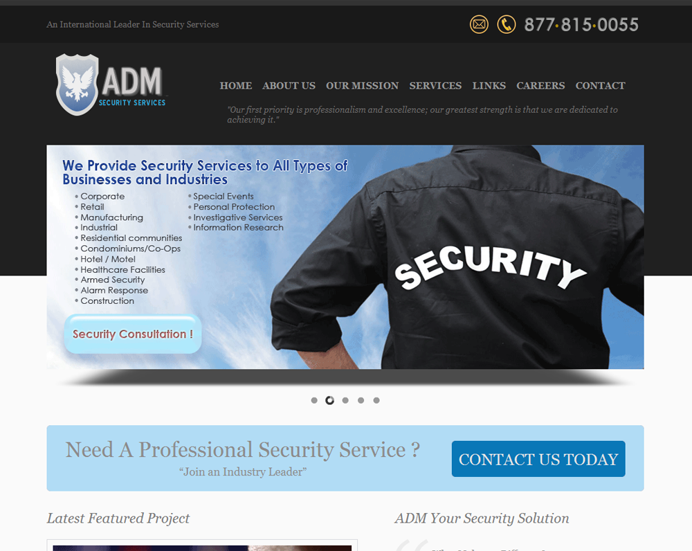 ADM Security Services