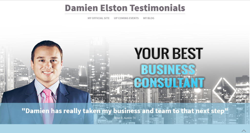 Damienelstontestimonials.com