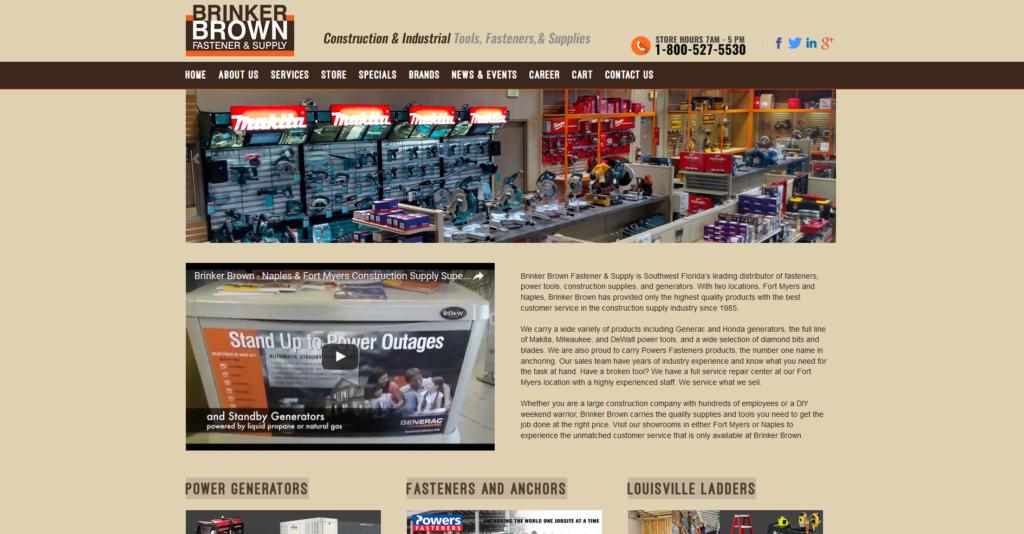Brinker Brown Fastener & Supply