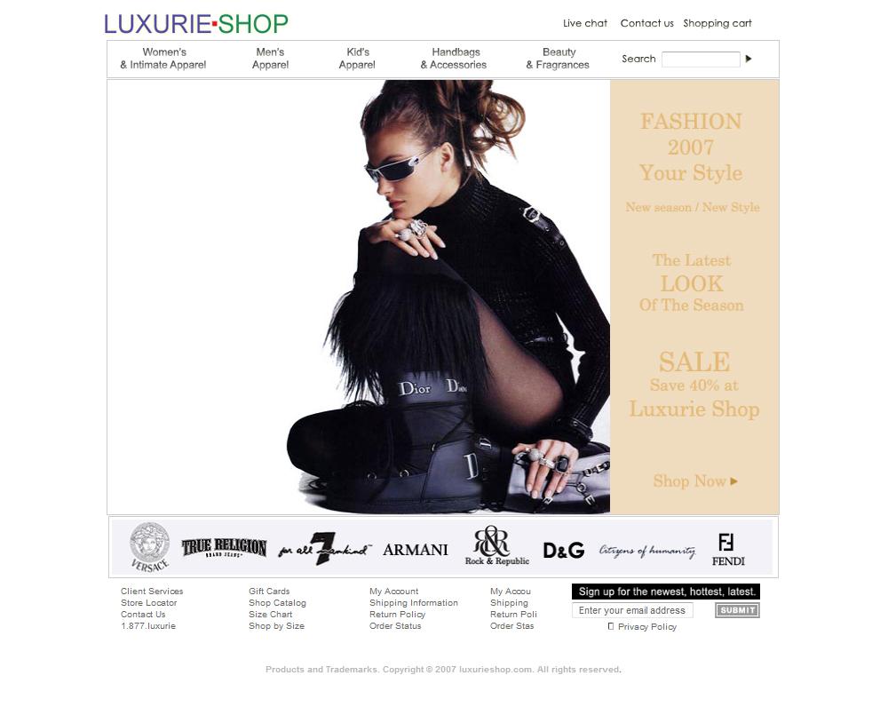 Luxurie Shop